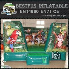 China Inflatable animal combo game jungle air bounce on sale