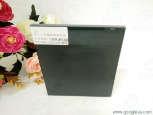 China Black and art film laminated glass on sale