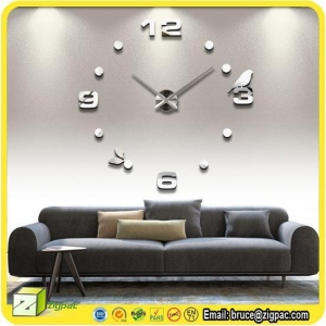 China Wall Stickers & Decals Item wall clock decal on sale