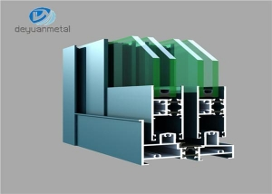 China Construction Aluminium Profiles Aluminium Sliding Windows Profiles on sale