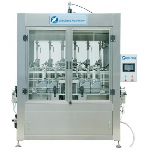 China QC1000 Full automatic high viscosity piston filling machine on sale