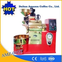 Commercial Coffee Roasting Machine Equipped Control Panel 1Kg Coffee Roaster For Coffee Shop