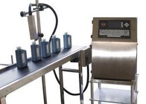 China CIJ online inkjet printer and expiry date stamping machine on sale
