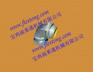 China Malleable Iron 90  liquid tight connectors(Fittings) on sale