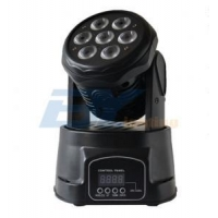 China LED Moving Heads BY-9710W 7X10W RGBW 4in1 LED Mini Wash Moving head on sale