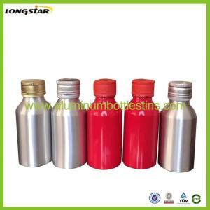 China 100ml aluminum beverage bottles on sale