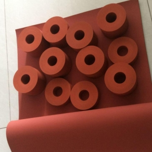 China High Temperature Resistant Heat Transfer Silicone Roller for Printing Machine on sale