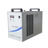Water Chiller cw5200 water chiller for 100w Fiber laser machine