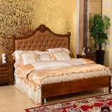 China Study room set Indoor furniture modern bed set home bedroom set double size bed on sale