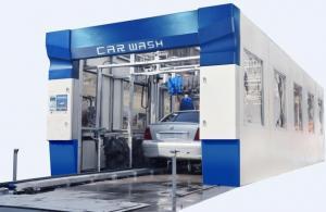China Nine Brush Tunnel Car Washer on sale