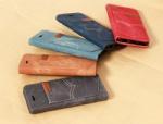 China Retro leather design suede case for iphone 6 plus, case for iphone 6 plus on sale