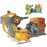 China Feeder TNCF5 Series 3 In 1 Precision NC Servo Straightener Feeder W /Uncoiler on sale