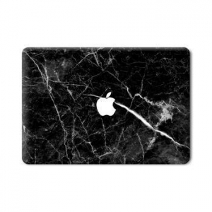 China noble black marble textures of the surface for macbook marble sticker case on sale