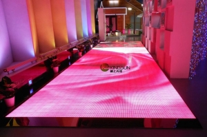 China Creative LED display PH16 Dance floor LED display on sale