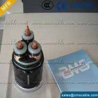 3.6/6kV 21/35kV Cable Cu/XLPE/SWA/PVC steel wire armored Power Cable IEC 60502