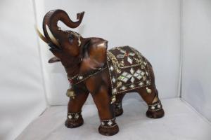 China Decoration Resin Elephant Statue on sale