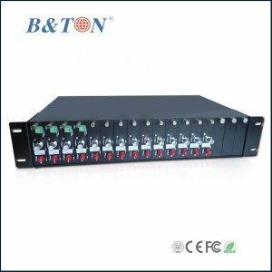 China 2U Rackmount Chassis 16slot for Video Converter Card on sale
