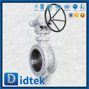 China Cast Steel Cryogenic Triple Offset Butterfly Valve on sale