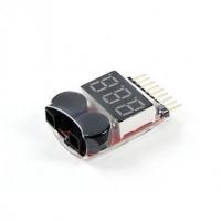 ACCESSORIES Vcanz Lipo Voltage Checker (2S~8S)