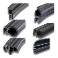 EPDM rubber PVC clip sheet seal strip