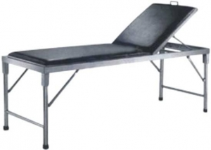 China A - 24 Hospital furniture Foldable Examining Bed on sale