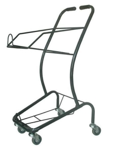 China Shopping Basket Supermarket Trolley for Sale on sale