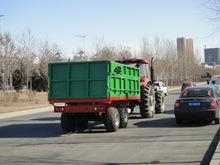 China Best price agricultural farm trailer/farm tractor tipping trailer on sale
