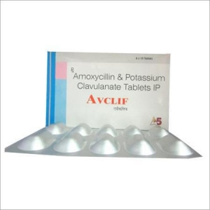 China Amoxycillin & Potassium Clavulanate Tablet on sale
