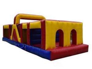 China Giant Inflatable Obstacle Course On Land For Sale on sale
