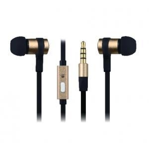 China Golden Flat Quality Cheap Earbuds Cell Phone Accessories Wholesale on sale