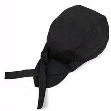 China Uniform/Work clothes Black Waiter Baker Cooking Chef Hat Head Wrap on sale