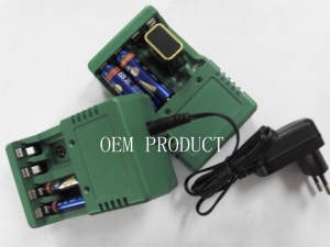 China nimh nicd AA/AAA 9V rechargeable batteries charger on sale