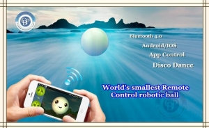 China CBP App-controlled Robotic Ball on sale