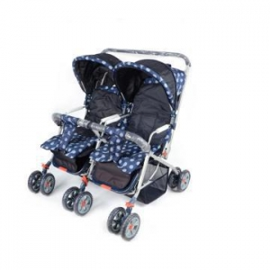 China Parallel Seats Luxury Baby Twins Stroller on sale