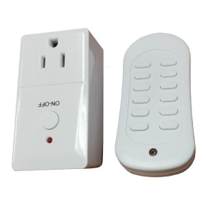 China USA RF Remote Control Plug Socket on sale