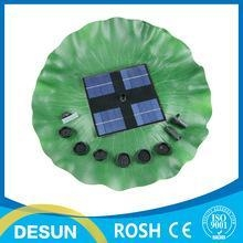 China 8v 1.6W mini Brushless Motor floating solar panle powered pump/fountain pond watering kit on sale