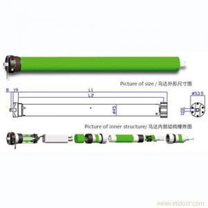 China 45S Tubular Motor For Roller Shutter on sale