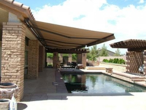 China Retractable Deck And Patio Awning Remote Control on sale