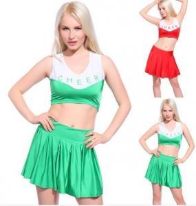 China cheerleading uniforms, sublimated cheerleading uniforms, spandex cheerleading uniforms on sale