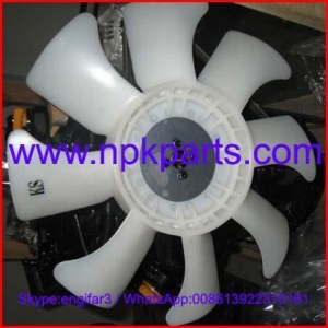 China Yanmar engine parts 3TNE88 water pump fan/cooling fan 171340-44740 on sale