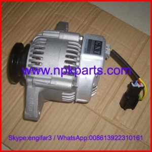 China Yanmar engine parts 3TNE88 alternator/generator 129129-77010 on sale
