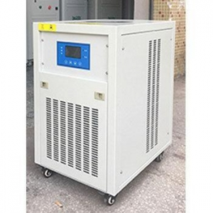 China industrial air cooled mini type portable water chiller for wave soldering reflow oven screen printer on sale