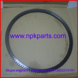 China Yanmar engine parts 3TNE88 gear ring 124550-21600 on sale