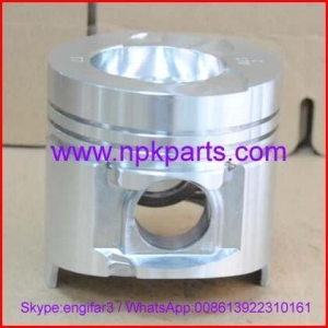Quality Komatsu engine repair parts 4D95 engine piston with pin and clips 6202-32-2110 for sale