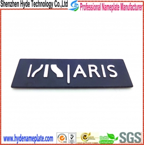 China Aluminium Nameplate HY-HB0262a on sale