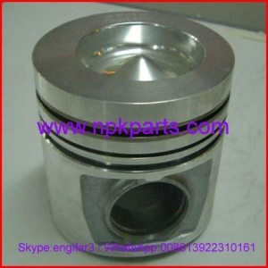 China Komatsu engine repair parts 4D102 piston with pin and clips 6110-33-2132 on sale