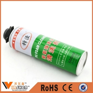 China Spray PU foam / polyurethane foam cleaner on sale