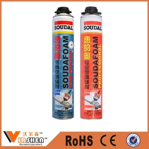 China Packaging purpose waterproof spray pu foam on sale