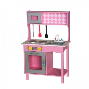 China kids wooden play kitchen toy on sale