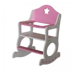 China wooden doll furniture doll rocking chair on sale
